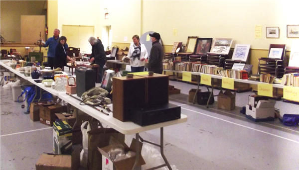 Our Attic Treasures and Basement Bargains Sale.