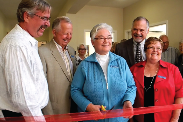 Finally! The official opening of our new Parish Hall.
